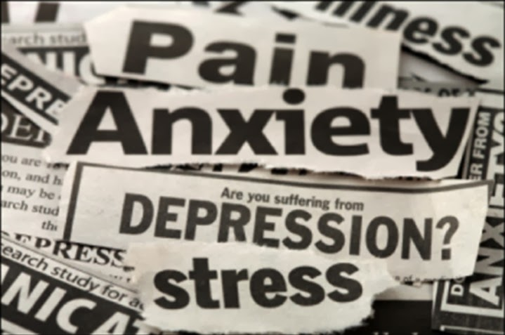 Anxiety Depression News Clipping
