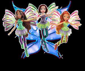 Nuevas muñecas Winx Sirenix Fairy de Witty Toys