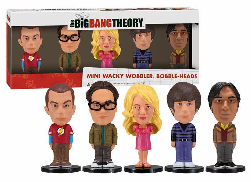 Cabezones Personajes Big Bang Theory