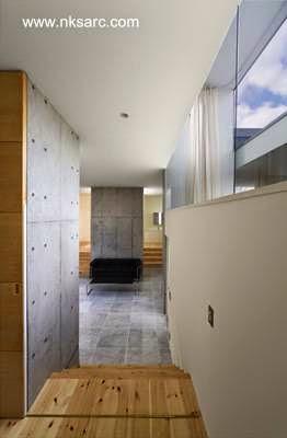 Pasillo interior de la casa