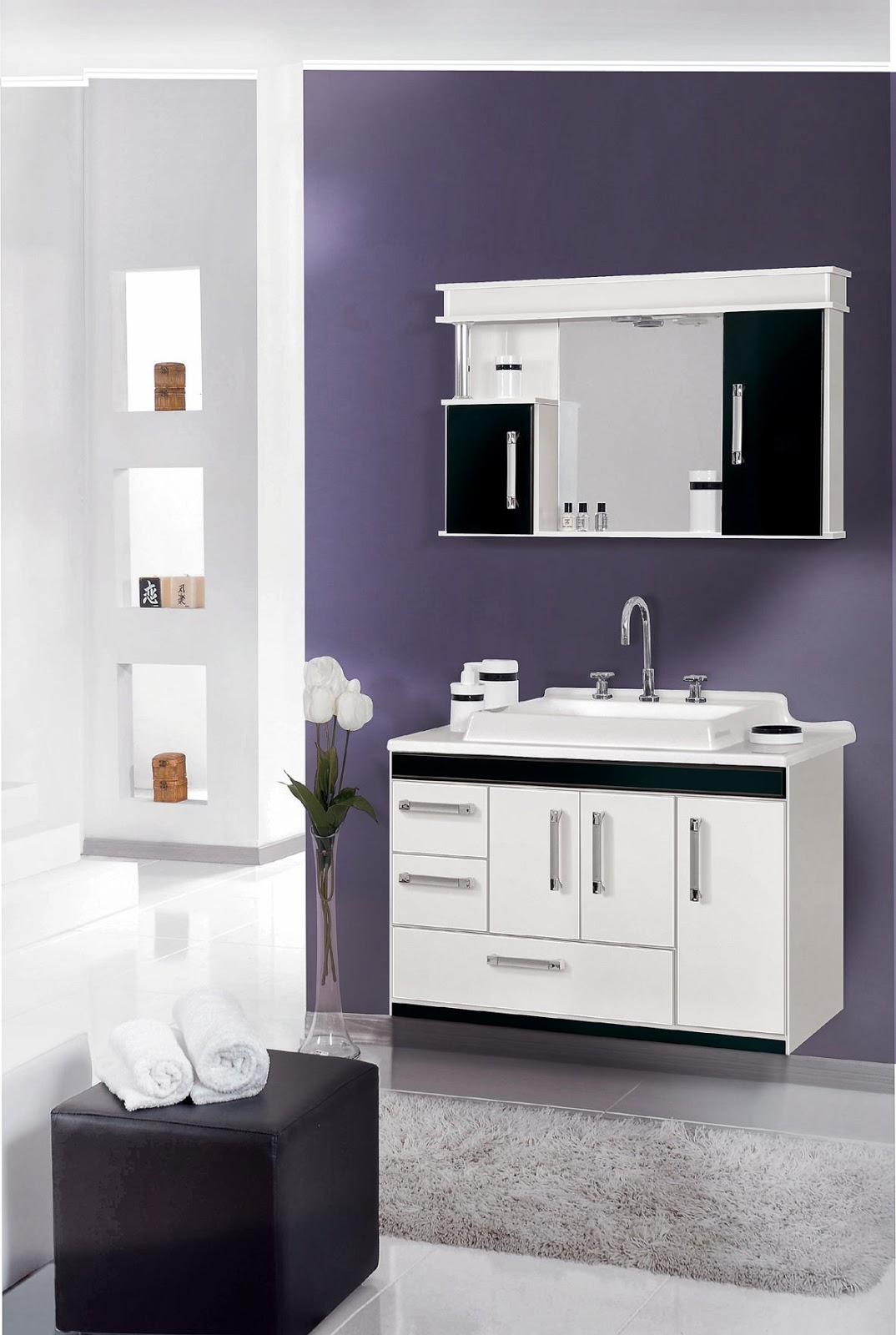 clean-bathroom_with_sink_cabinet_towel_image