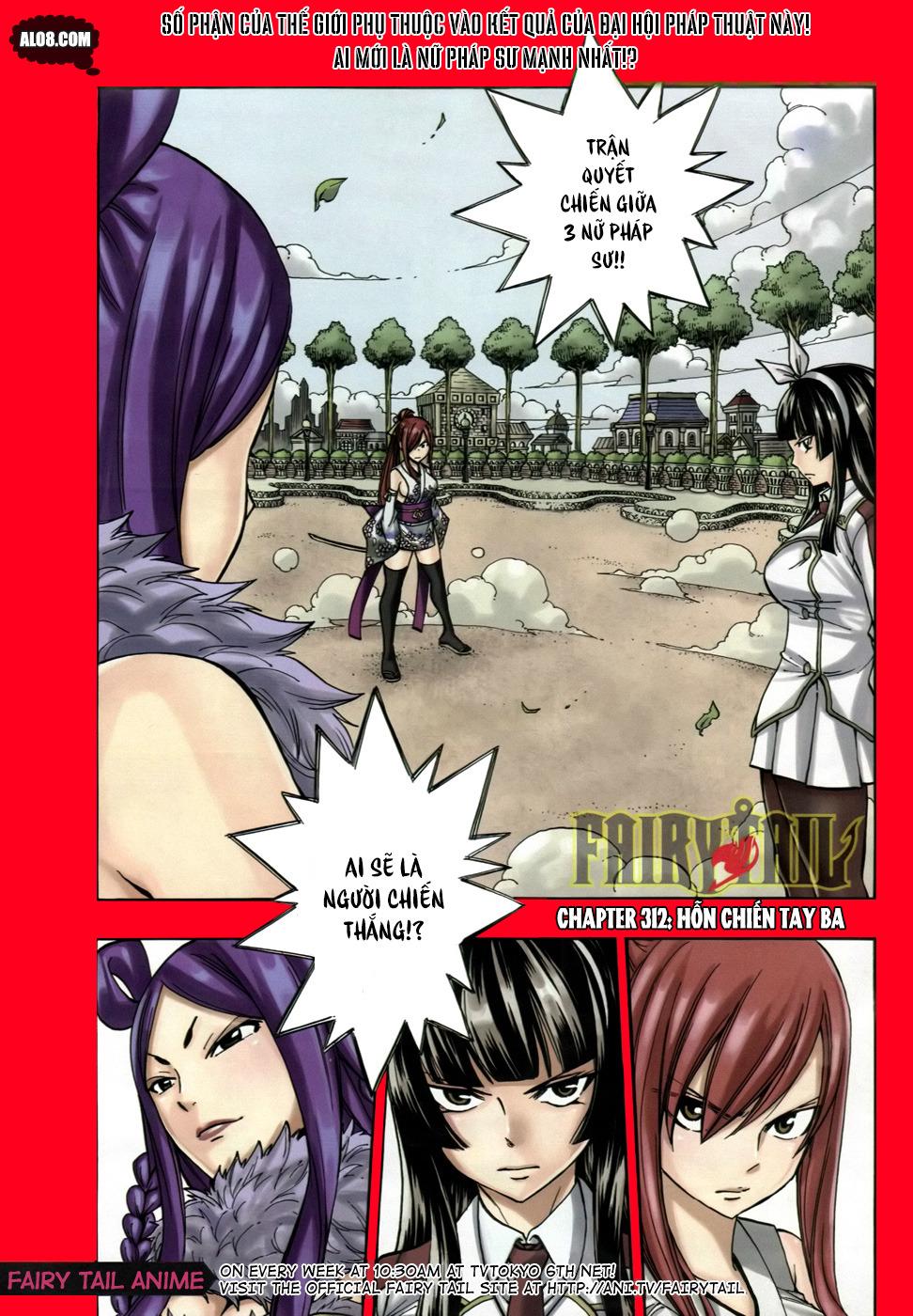 Fairy Tail chap 312 page 1 - IZTruyenTranh.com