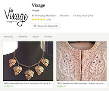 on Etsy: vixage