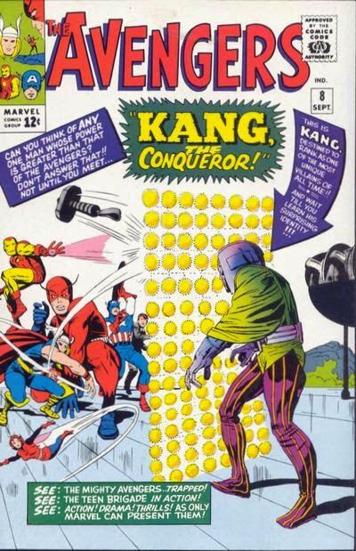 Avengers #8, Kang