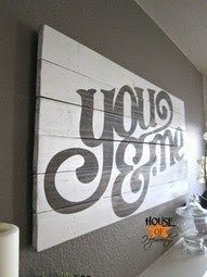 Wall art con Pallets