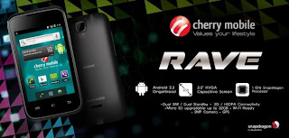Cherry Mobile Rave Specs