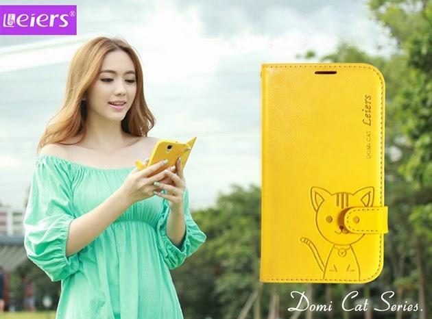 เคส note 4 - domicat สีเหลือง