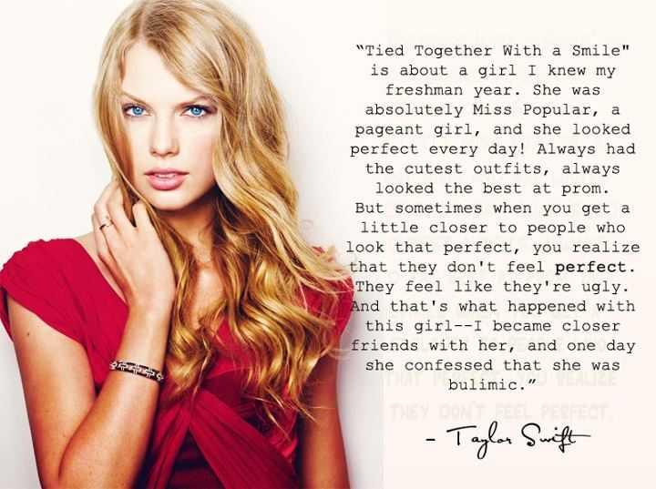 Di postingan kali ini, aku mau ngeshare quotes Taylor Swift dalam