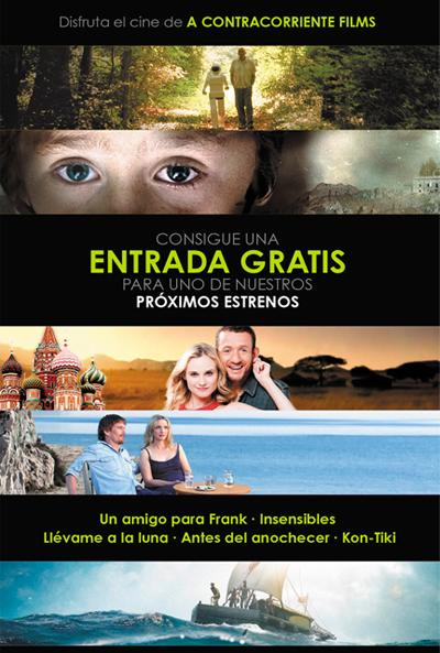 Entradas de cine gratis con A Contracorriente Films