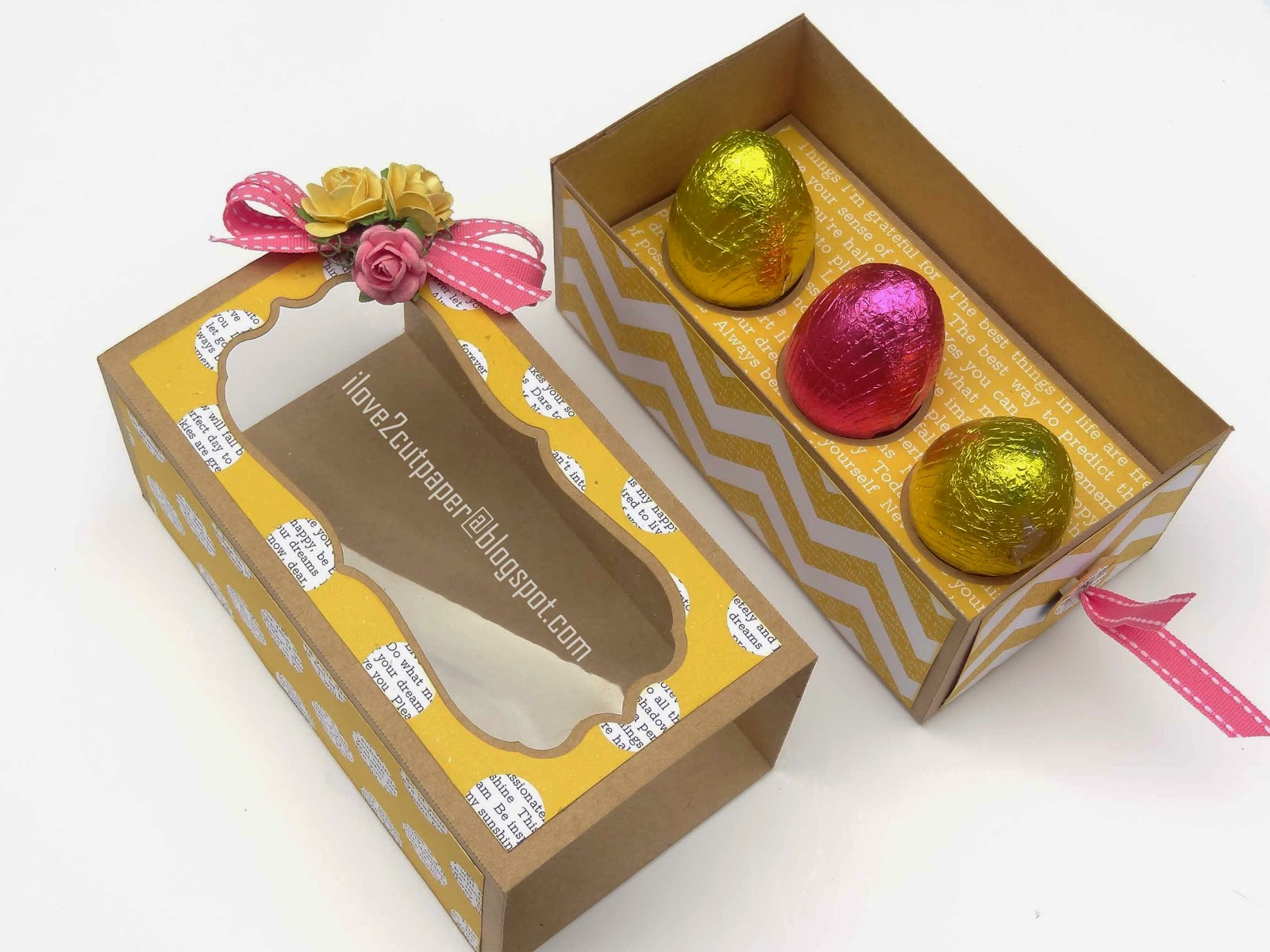 I love 2 cut paper easter egg gift box pazzles inspiration easter eggs svg wpc negle Image collections