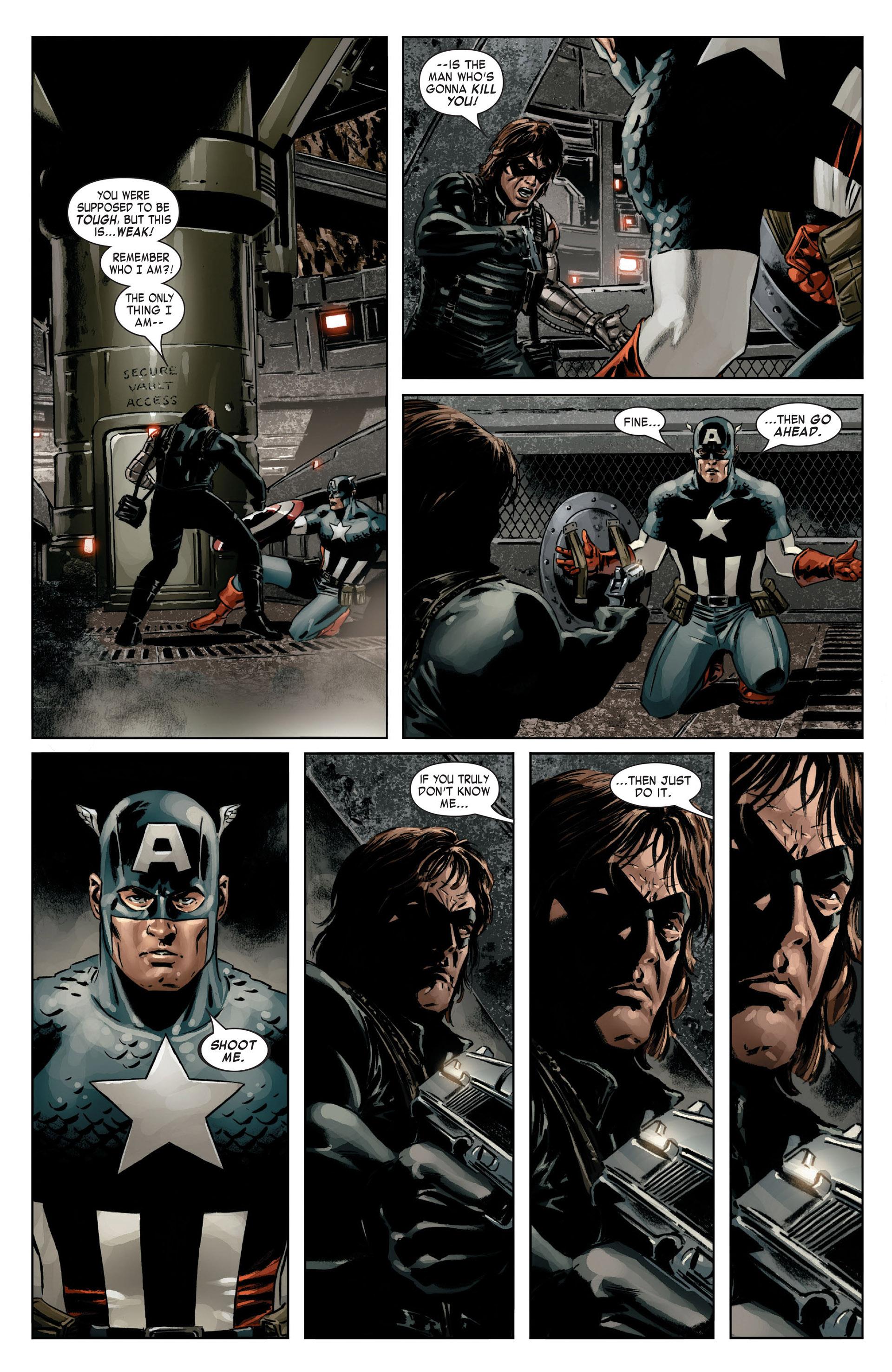 Captain America (2005) Issue #14 #14 - English 15