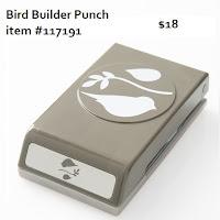 Stampin'UP! Bird Builder Punch