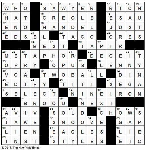 Times+Crossword+by+Gary+Cee+edited+by+Will+Shortz+Wednesday+May+29