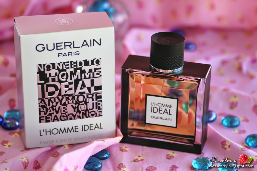 guerlain paris l'homme ideal perfume review scent בושם ל'הום אידיאל גרלן לגבר ריח glossberry בלוג איפור וטיפוח