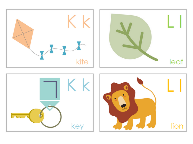 Eloquent image inside free printable abc flashcards