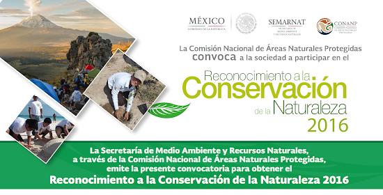 Reconocimiento a la conservación de la naturaleza