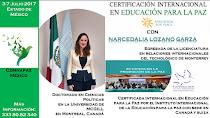 Certificación Internacional de Educación para la Paz