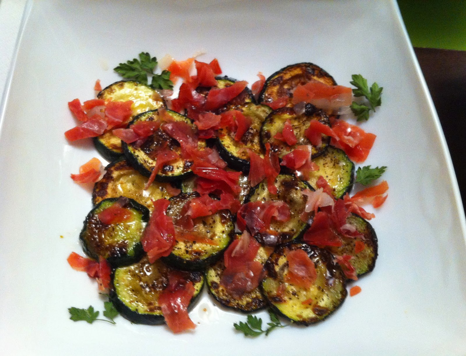 Recetas para cocinillas calabacines a la plancha con salsa agridulce - Salsa para ternera a la plancha ...