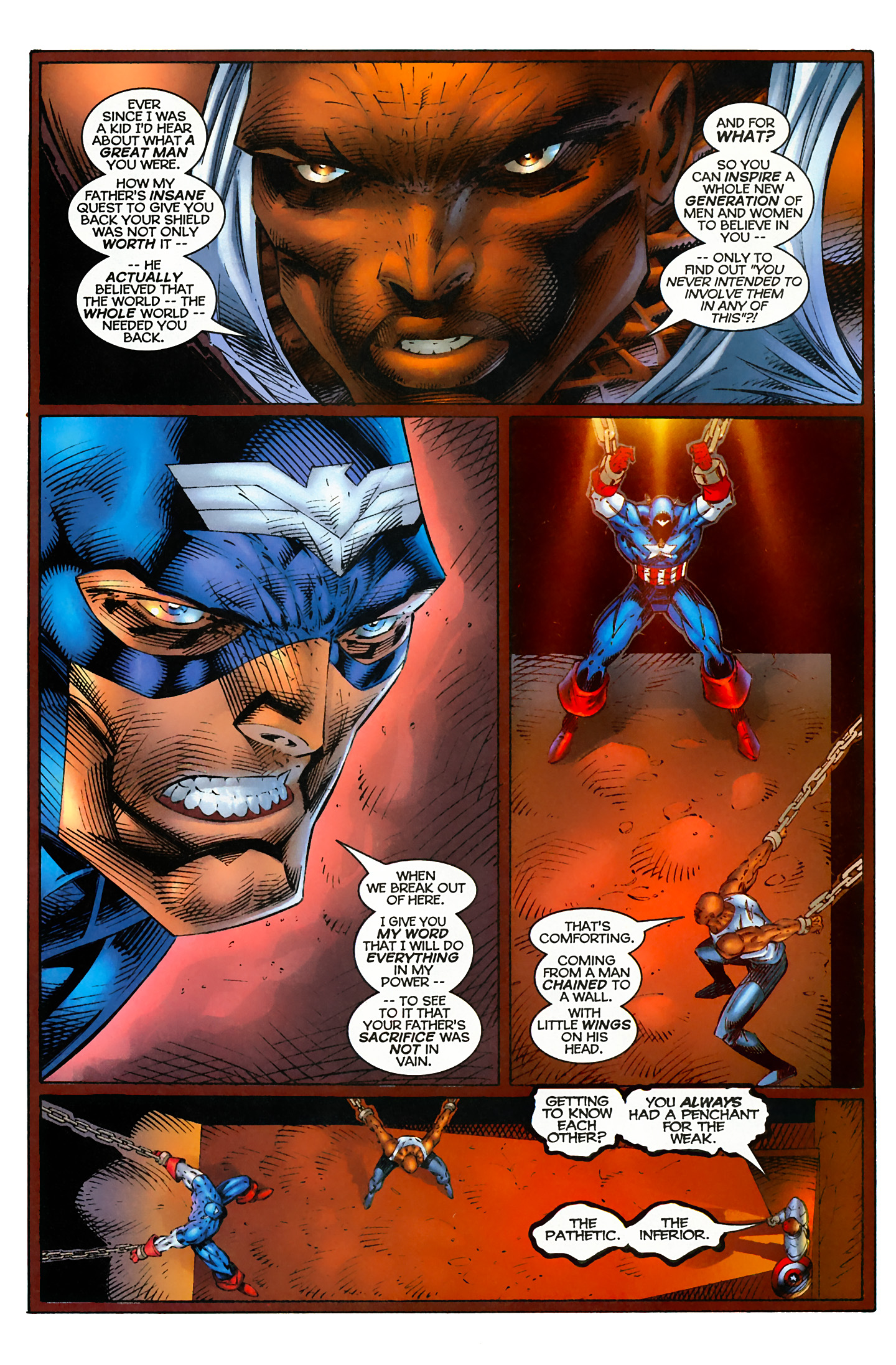Captain America (1996) Issue #4 #4 - English 8