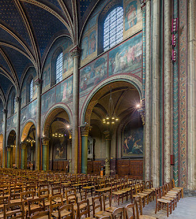 """Nave of Abbaye de Saint-Germain-des-Prés, Paris, France - Diliff"" by Diliff - Own work. Licensed under CC BY-SA 3.0 via Wikimedia Commons - http://commons.wikimedia.org/wiki/File:Nave_of_Abbaye_de_Saint-Germain-des-Pr%C3%A9s,_Paris,_France_-_Diliff.jpg#/media/File:Nave_of_Abbaye_de_Saint-Germain-des-Pr%C3%A9s,_Paris,_France_-_Diliff.jpg"
