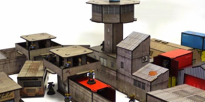 Kickstarter: Pre Printed Wargame Terrain