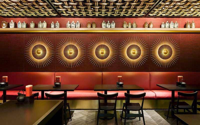 Bancos estofados para mesas Dos restaurantesà decoraç u00e3o residencial # Decoração Simples Para Mesa De Restaurante