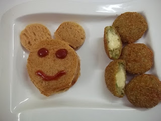 CHEESE-FILLED POHA CUTLET