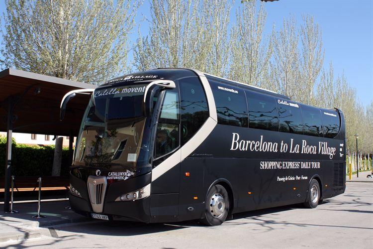 Transporte p blico en zaragoza barcelona y la roca for La roca barcelona