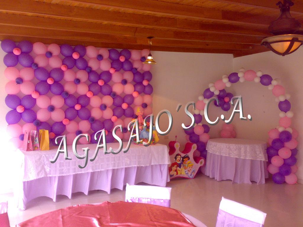 Decoraciones con globos - Decoraciones de fotos ...