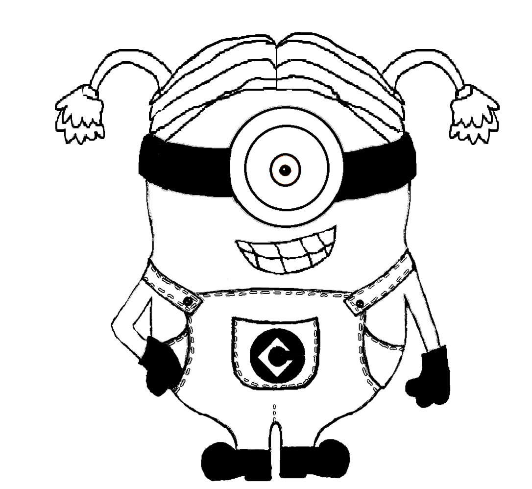 minions coloring pages halloween pumpkins - photo#13