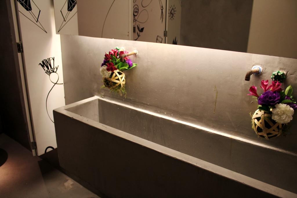 Bem Florido Decoração para Casamento Moderno -> Foto Banheiro Feminino