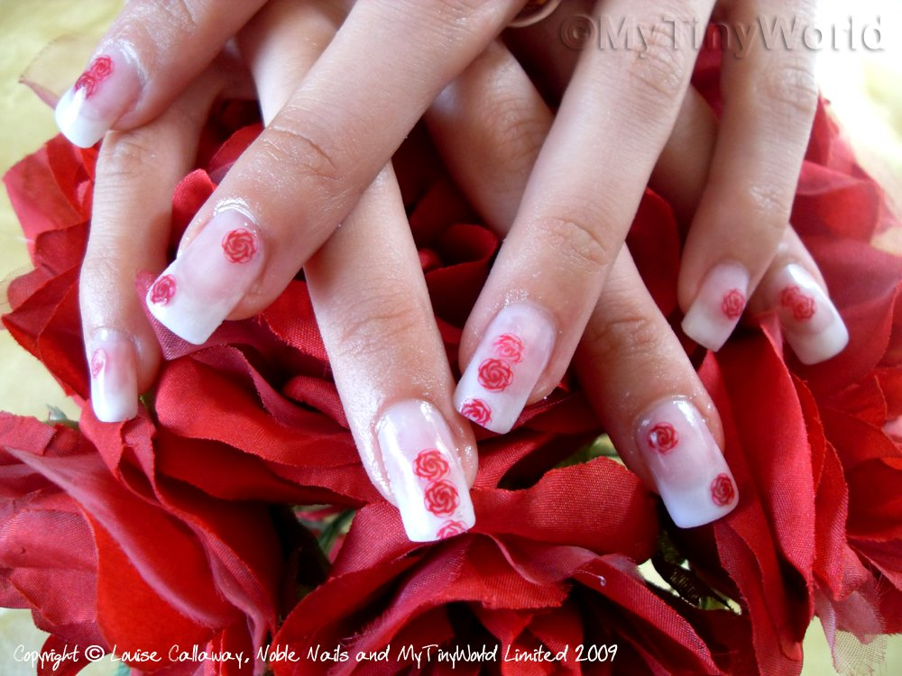 Rose Nail Art : Everything About Fashion Today!