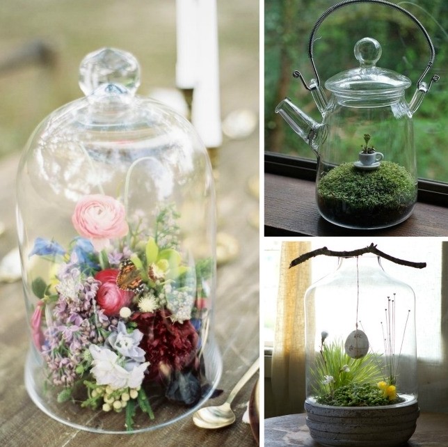 Decoracion de bodas con terrarios - Blog Mi Boda