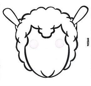 imagens para colorir de ovelha