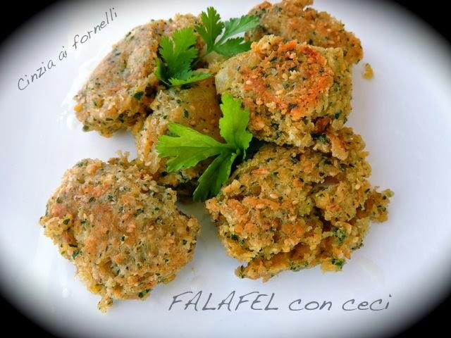 falafel con ceci