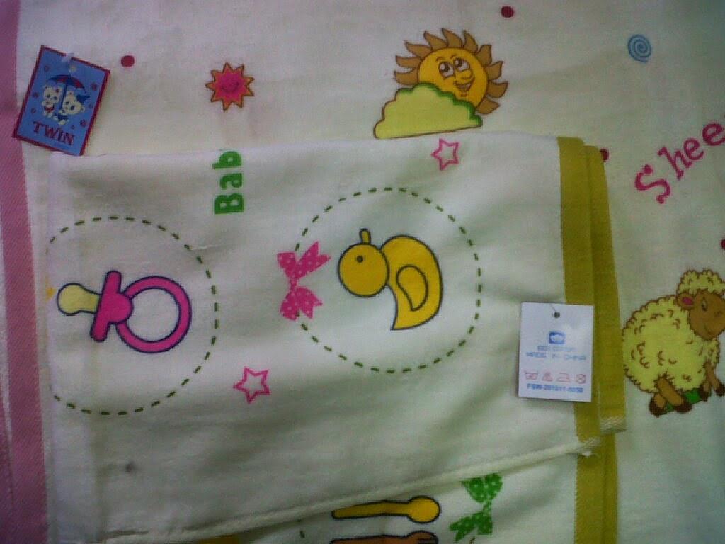 Sumber Hidup Baby Shop Handuk Pakaian Celana Tanggung Good Morning Twin Warna