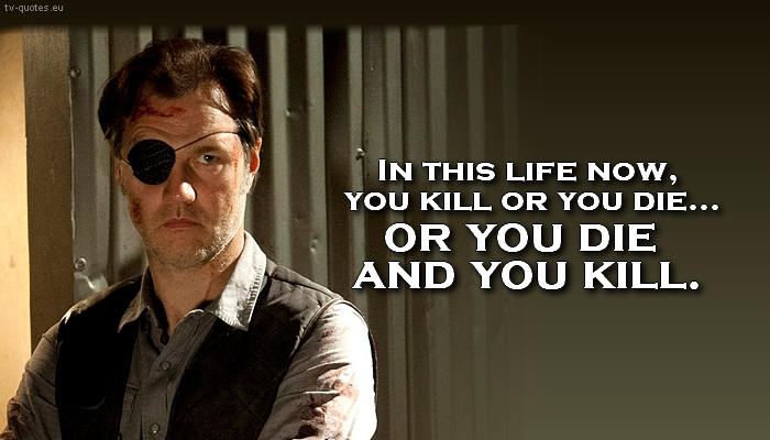 Walking dead quotes