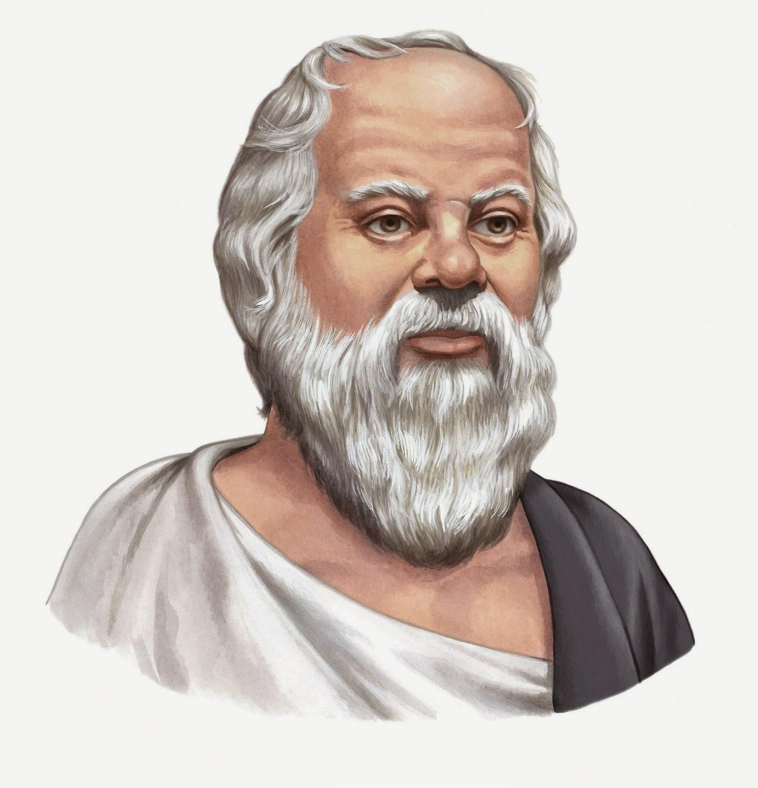 "<b>MENGENAL DIRI</b>. "" - Socrates_Portrait_400"