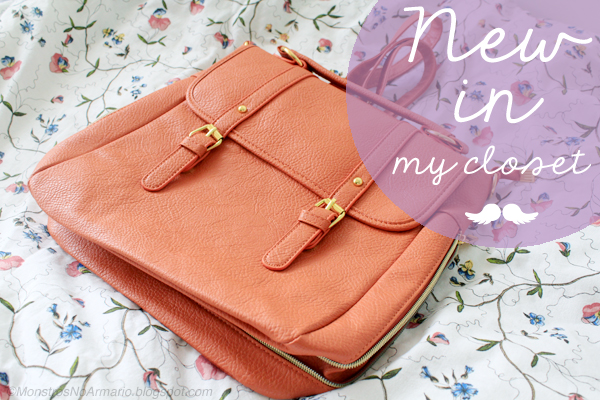 New in my Closet: Satchel Backpack