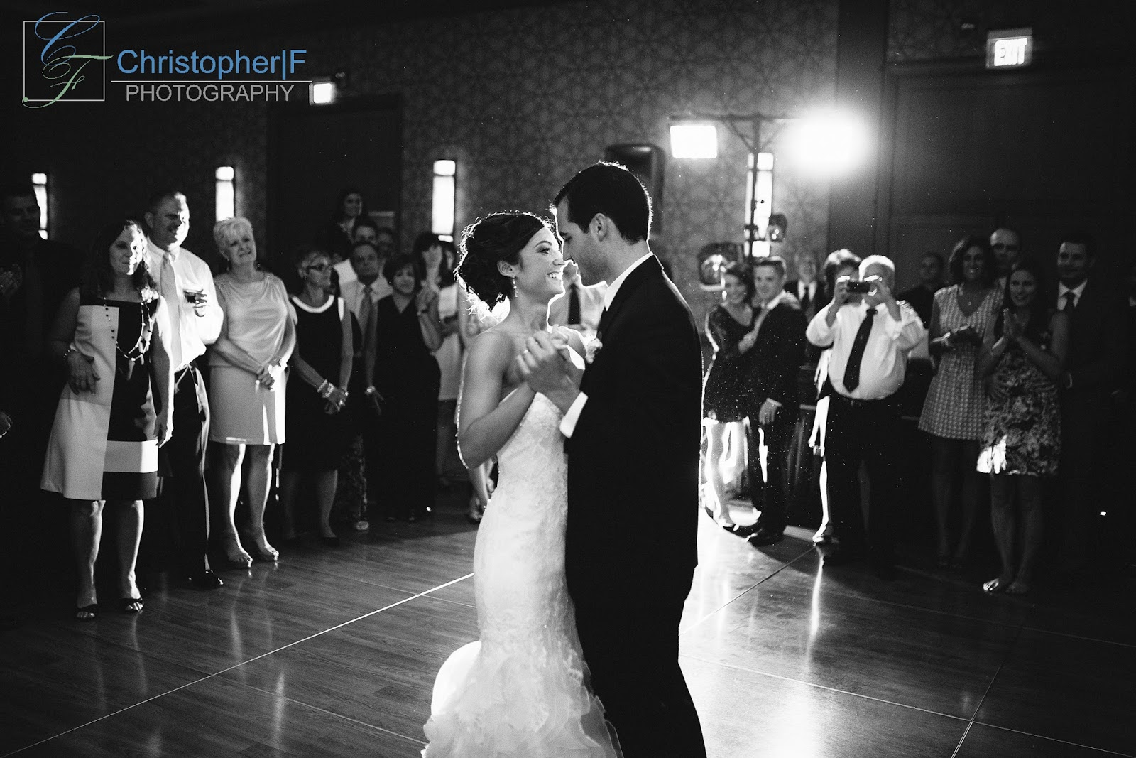 Chicago First Dance wedding photo