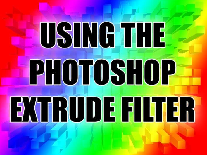 trik dan tips menambah efek extrude Photoshop