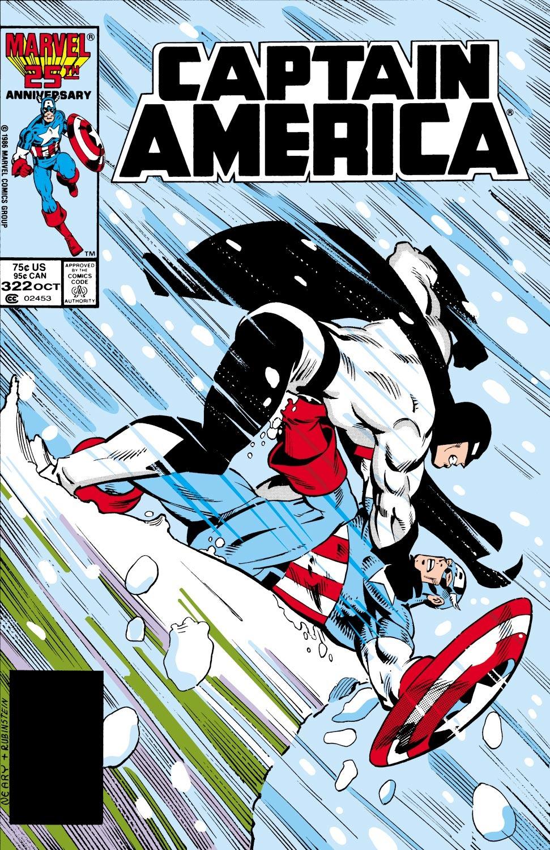 Captain America (1968) Issue #322 #250 - English 1