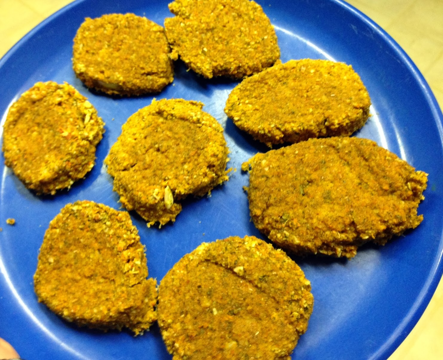 Raw Vegan Veggie Burgers by My Blissful Journey