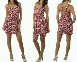 vestidos estampados curtos