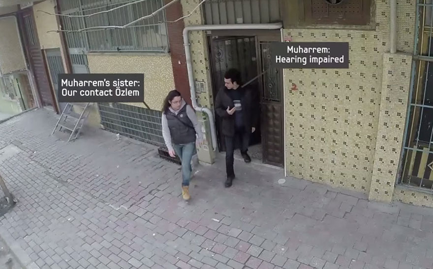 Entire Neighbourhood Secretly Learns Sign Language To Surprise Deaf Neighbor - One day, Muharrem, a deaf man living in Istanbul, and his sister Ozlem headed out for a walk…