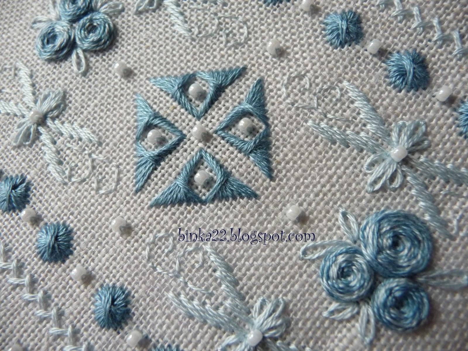 Схема для вышивки шовчиковая 986
