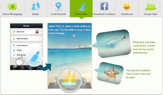 WeChat- Applikasi percuma untuk pengguna Smartphone