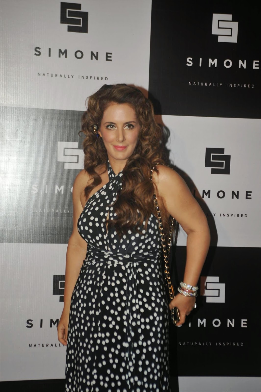 Celebrities at Simone Store Launch Event Photo Shoot