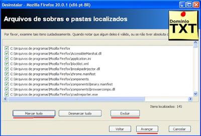 DominioTXT - RevoUninstaller Removendo Arquivos de Sobras
