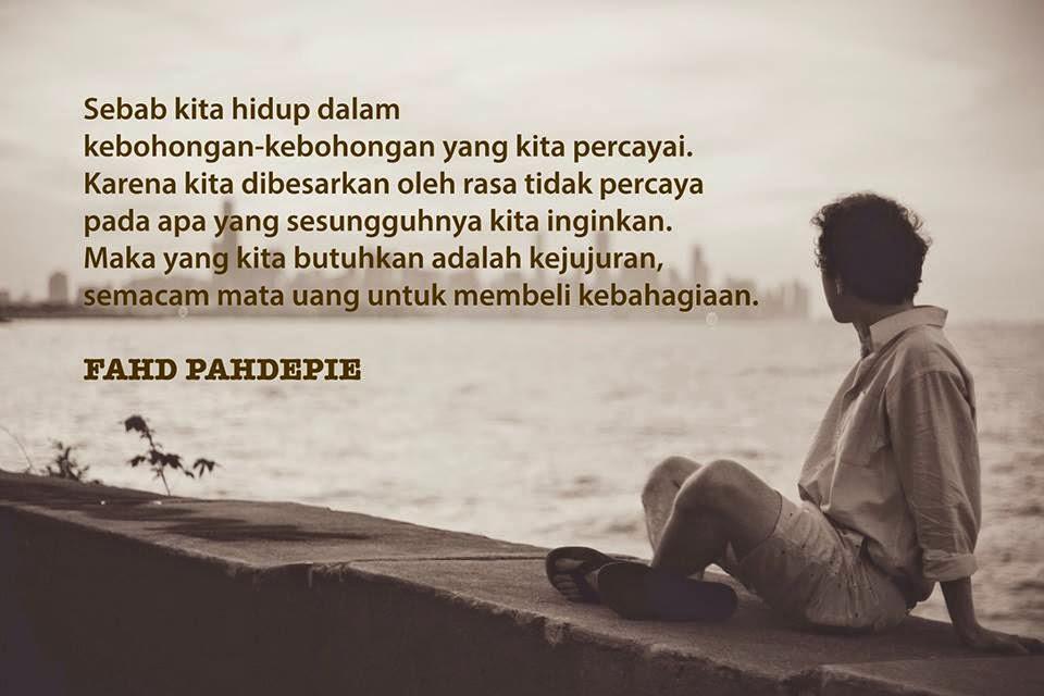 Kata-Kata Mutiara dari Fahd Pahdepie